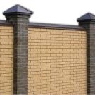 Забор из лего кирпича