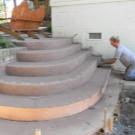 Крыльцо из бетона
