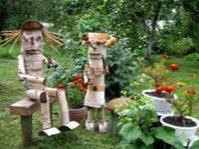 Изготовление садовых фигурок своими руками фото 246