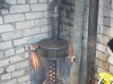 Кирпичная печь для гаража на дровах своими руками чертежи фото 914