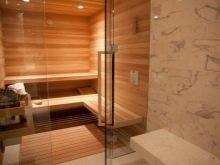 Стеклянные двери для бани: плюсы и минусы