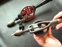 Что можно сделать из ручной дрели