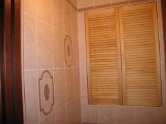 дверцы для сантехнического шкафа в туалете дверь для
