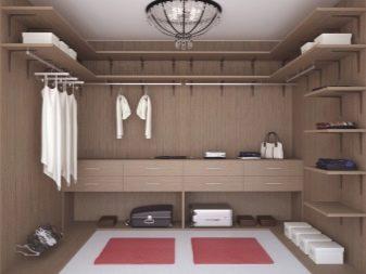 Встроенные гардеробные (53 фото): встраиваемые модели в нишу стены комнаты с гладильной доской