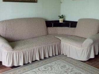чехол на угловой диван 77 фото еврочехол и универсальный на
