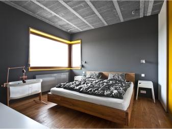 спальня в скандинавском стиле 74 фото дизайн интерьера маленькой