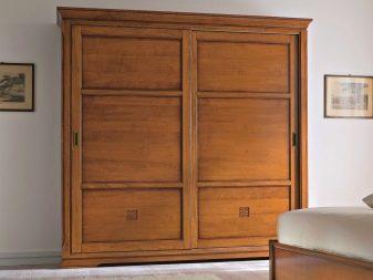 Шкафы из массива дерева (53 фото): элитные модели из натурального дуба, березы и бука для одежды в прихожую цвета венге, белые и красные