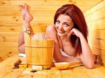 Как закрепить угловой абажур в парилке