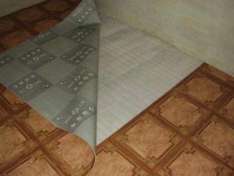 Подложка под линолеум на бетонный пол