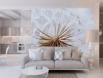 3D обои для зала в квартире (53 фото): варианты расширяющие пространство в интерьере гостиной