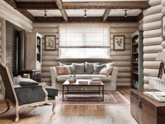 Дизайн интерьера дачного домика