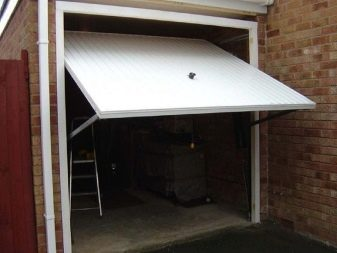 Устройство подъемных ворот для гаража