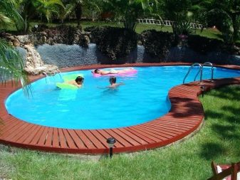 Самодельный бассейн на даче своими руками