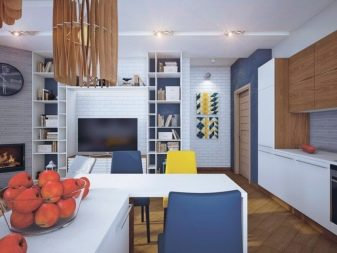 Кухня-гостиная в скандинавском стиле (29 фото): идеи дизайна интерьера
