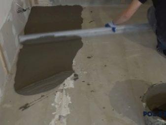 горизонталная гидроизоляция монолитной фундаментной плиты