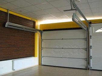 Самодельные гаражные ворота своими руками 138