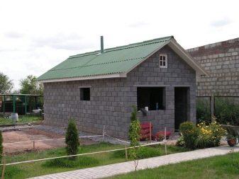 Баня из блоков расчет материалов