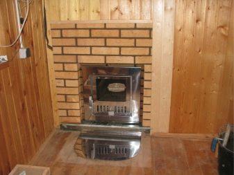 Печь для бани гефест с закрытой каменкой