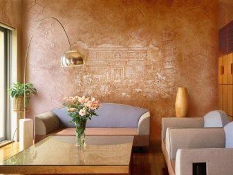 Виды декоративной штукатурки для кухни (57 фото): дизайн внутренней отделки стен в интерьере
