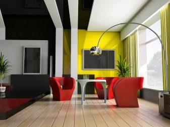 контрастный потолок