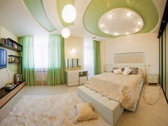 потолок для спальной комнаты