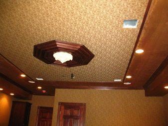 тканевый потолок