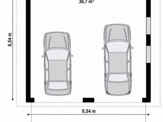 Высота гаража в частном доме
