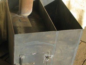 Самодельные бани из железа