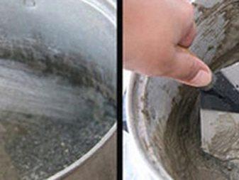 цементное молочко для керамзита пропорции