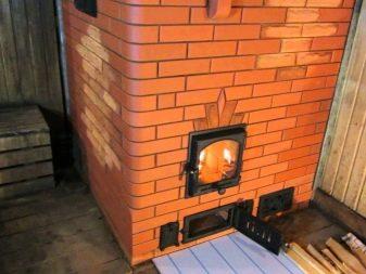 Железная печь для бани и дымоход к ним эмалированный дымоход 150