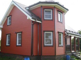 Сайдинг (87 фото): дома, обшитые сайдингом, выбор материала для наружных работ, фасадные панели разных расцветок