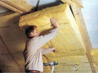 Как утеплять потолок своими руками минватой фото 890