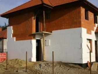 Экструдированный пенополистирол для фасада