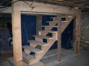 Бетонная лестница в подвал своими руками