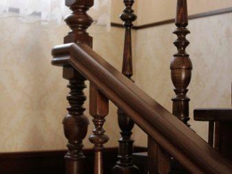 Комбинированные балясины дерево металл