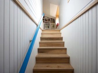 Деревянные прямые лестницы (29 фото): конструкция из дерева на второй этаж своими руками, чертежи для частного дома