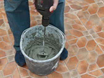 цементные растворы применяют