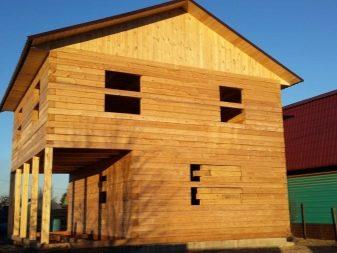 Как построить дом из бруса 150х150 своими  789