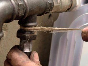 Как правильно установить сгон на трубу