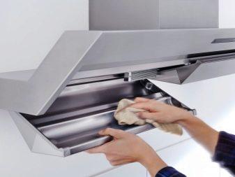 Как разобрать кухонную вытяжку