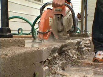 Шлифовальная насадка на болгарку по бетону