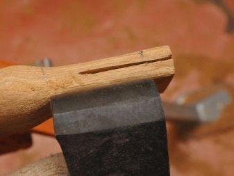 Чем обработать топорище для топора