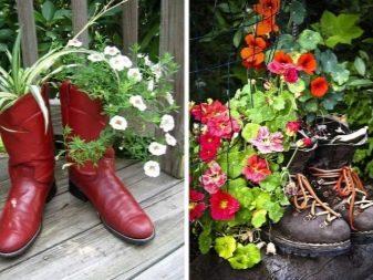 Из чего сделать большой цветочный горшок