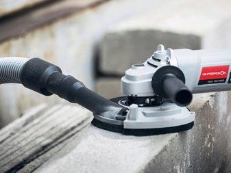 Шлифовальная машинка по бетону с пылесосом