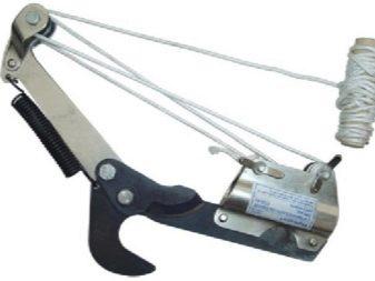Сучкорез штанговый телескопический - инструмент для обрезки деревьев на высоте