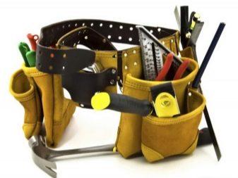 Как сшить пояс для инструментов