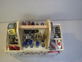 Тканевый органайзер для инструментов