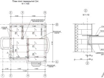 план перекрытия жб плитами