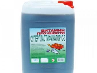 Пластификаторы с 3 для растворов цементных бетон 1куб