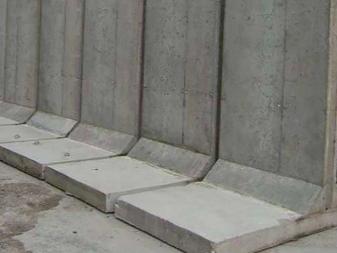 подпорные стенки из бетона купить
